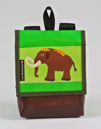 Kindergartenrucksack mit Mammut