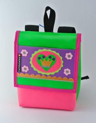 Kindergartenrucksack mit Krone