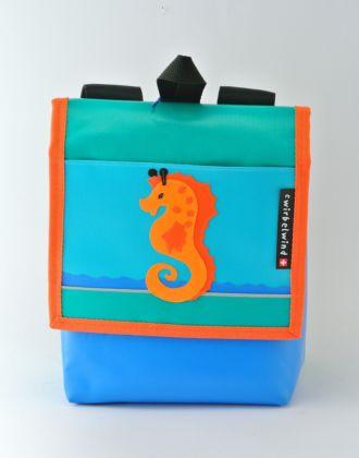 Kindergartenrucksack mit Seepferd