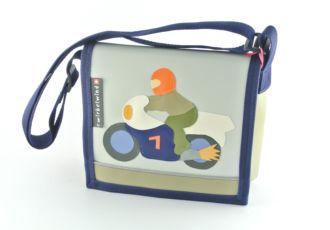 Kindergartentasche mit Motorrad