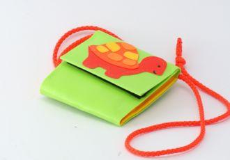 Portemonnaie mit Schildkröte