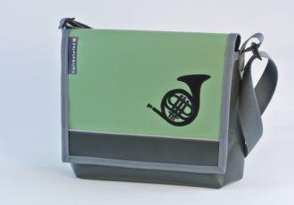 Musiktasche mit Waldhorn