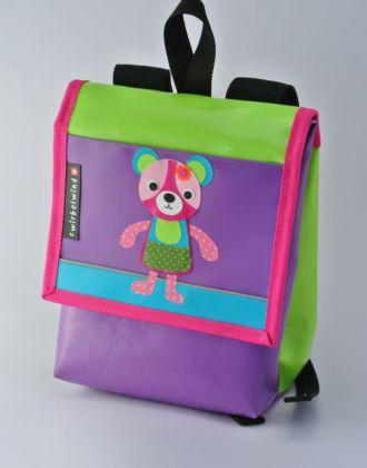 Kindergartenrucksack mit Bär