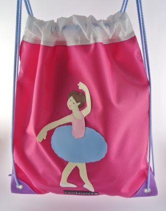 Turnsack mit Ballerina