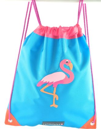 Turnsack mit Flamingo