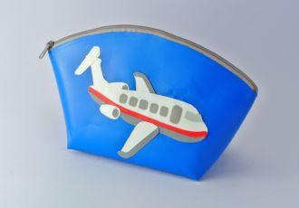 Necessaire mit Flugzeug