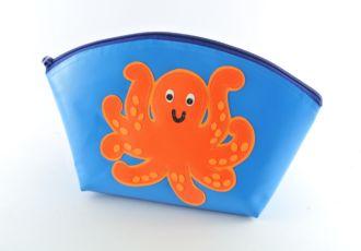 Necessaire mit Oktopus