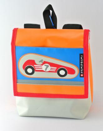 Kindergartentasche mit Rennauto