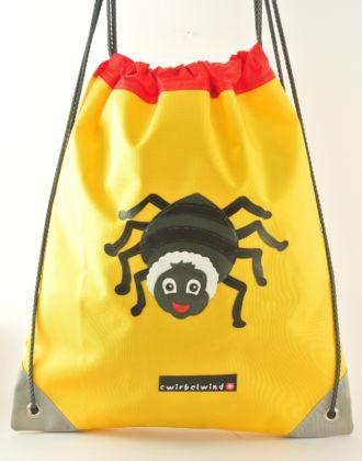Turnsack mit Spinne