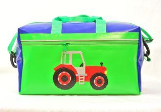 Sporttasche mit Traktor