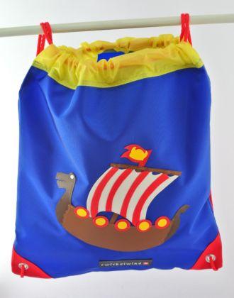 Turnsack mit Wikingerschiff