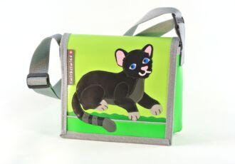 Kindergartentasche mit schwarzem Panther